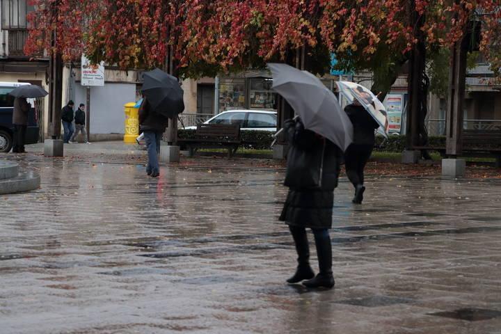 Lluvias de madrugada y rachas de viento con el mercurio en los 10ºC este miércoles en Guadalajara