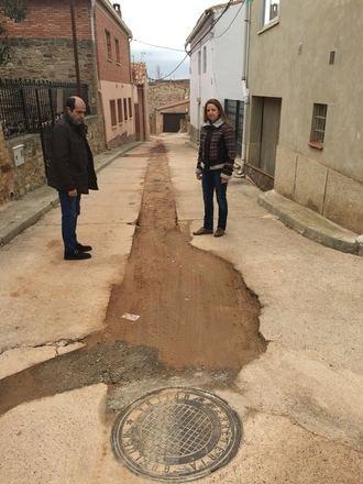 La Diputación renueva redes en Cobeta, Rueda de la Sierra, Anchuela del Campo y Villel de Mesa