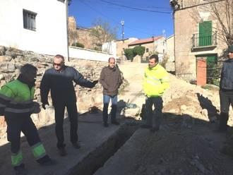 Diputación lleva a cabo obras hidráulicas y de pavimentación en Anguita y sus pedanías