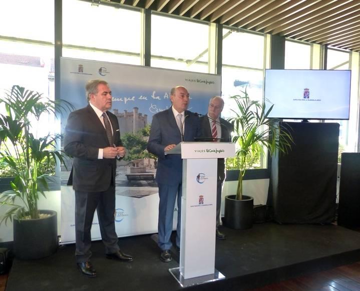 El viaje a la Alcarria se promociona a través de Viajes El Corte Inglés gracias a un acuerdo con la Diputación