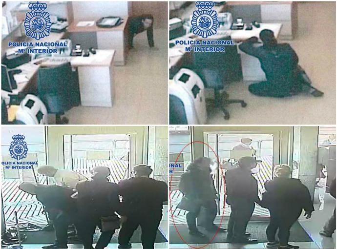 """Detenido el grupo de atracadores de """"la caca de perro"""", en Guadalajara habían robado 64.000 euros"""