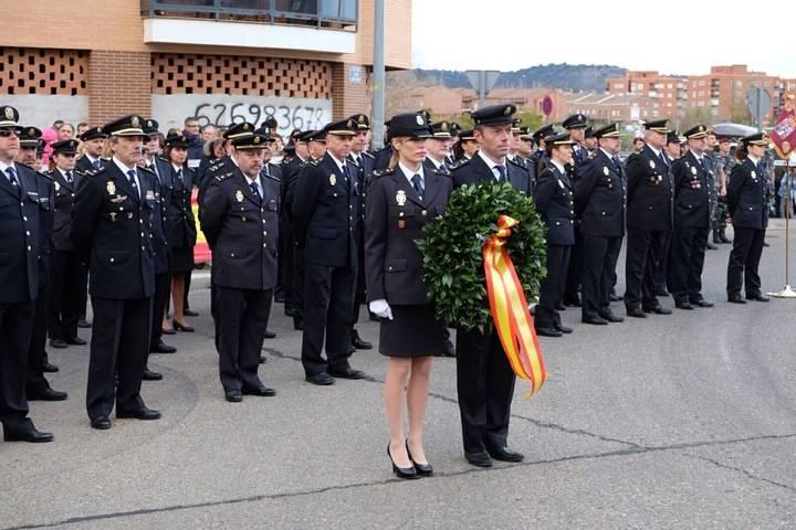 El Ayuntamiento de Guadalajara dedica una glorieta a la Policía Nacional