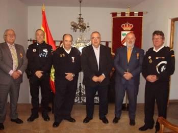 Reconocimiento en Illana a la Escuadrilla de Auxilio Náutico de la Liga Naval de Castilla-La Mancha
