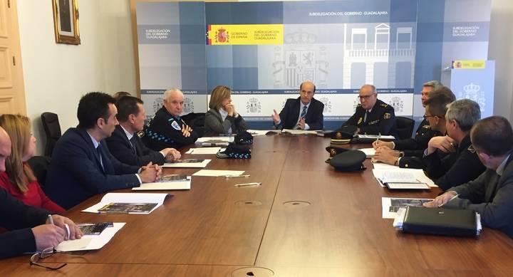 La Comisaría de Guadalajara refuerza su presencia policial en la calle durante la Navidad