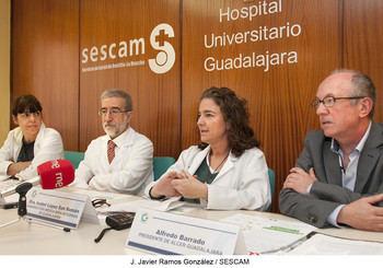 Page nombra a Isabel López San Román nueva directora del Hospital de Guadalajara