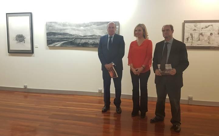 Inaugurada la exposición con los premios de Dibujo y Fotografía 2017 de la Diputación