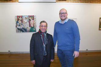 Inaugurada la exposición de Jairo Camacho en la Sala de Arte de Diputación