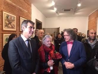La obra del artista José de Creeft ya se expone en el Palacio de la Cotilla