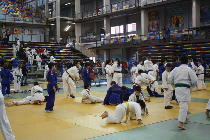 II Fase del deporte escolar Judo en Guadalajara