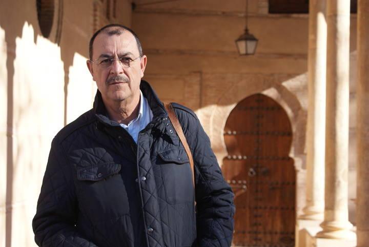 José Antonio Santano, ganador del premio de poesía 'José Antonio Ochaíta' 2017 de la Diputación de Guadalajara