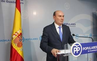 """Latre: """"Page ha vuelto a dar la espalda a Guadalajara y a demostrar que esta provincia le importa muy poco"""""""