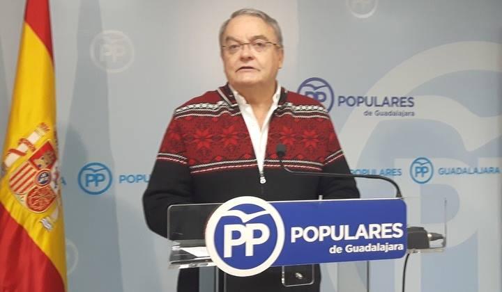 """De las Heras: """"La felonía de Page a Guadalajara se consumó el mismo día en que acababa el plazo para recurrir al Tribunal Supremo"""""""