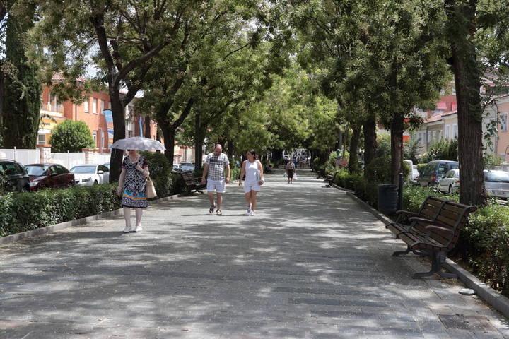 Atropello grave cuando cruzaba por un paso de peatones en el Paseo Doctor Fernández Iparraguirre de Guadalajara