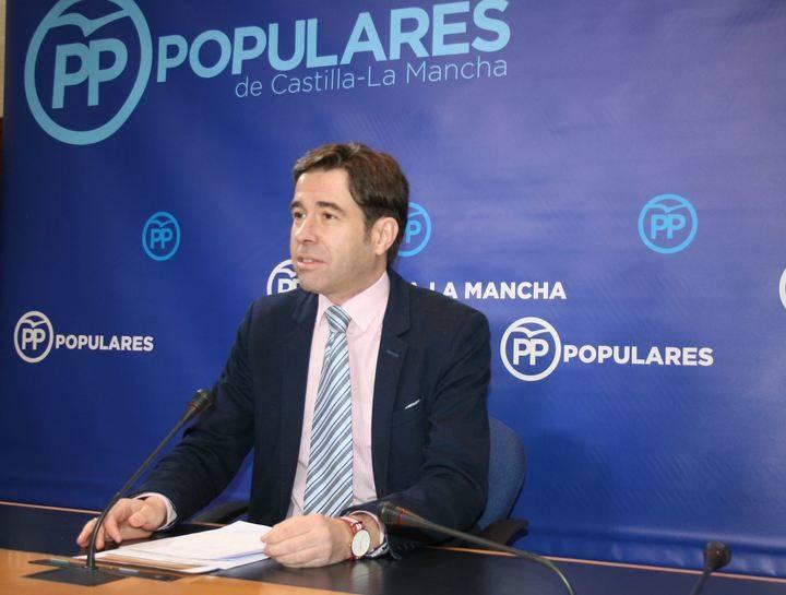 """El PP denuncia que Page """"presenta hoy un plan sobre el Corredor del Henares que ya anunció hace 21 años"""""""