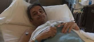 El excopiloto Luis Moya operado de tres aneurismas cerebrales