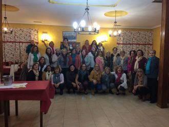 Las mujeres protagonizan el inicio de la Navidad en Yebra