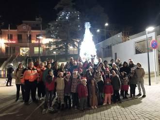 El encendido de las luces da comienzo a la Navidad Setera