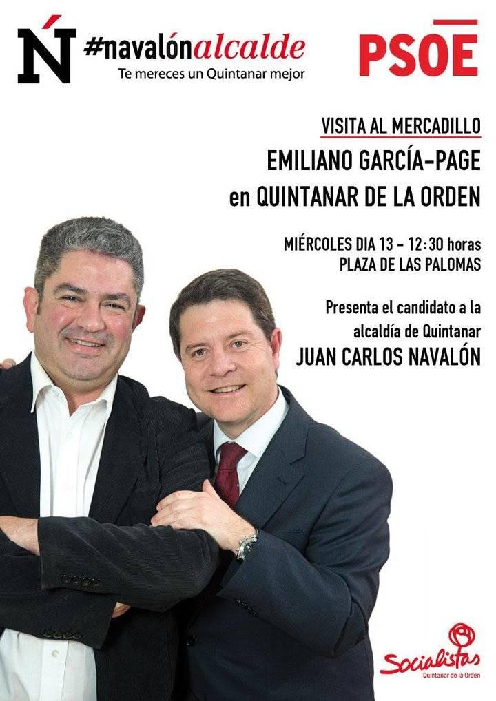 Page colócanos a todos : el exalcalde socialista de Quintanar de la Orden, nombrado director de Hacienda de la Junta en Toledo