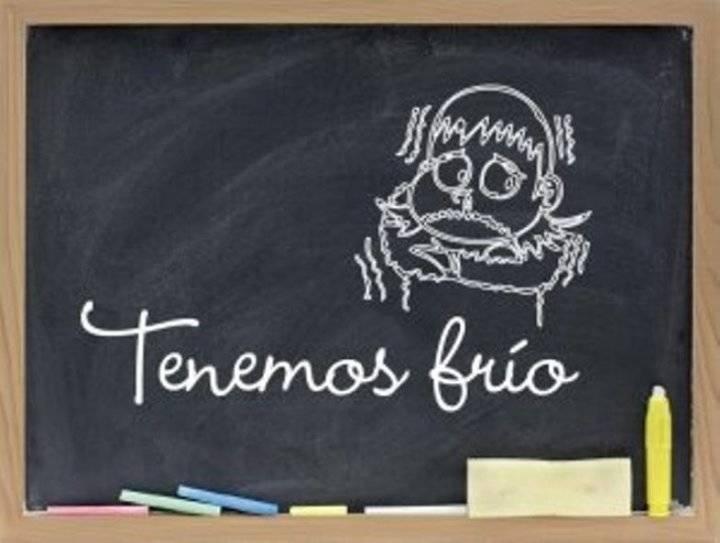 Denuncian que la Junta de Page y Podemos permiten temperaturas heladoras en las aulas de varios colegios de Guadalajara