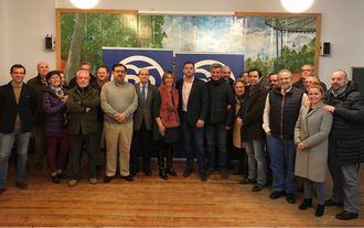 El PP de Cabanillas renueva su junta local con el objetivo de recuperar la Alcaldía