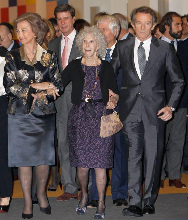 SEMANA La especial amistad de la reina Sofia y Alfonso Díez