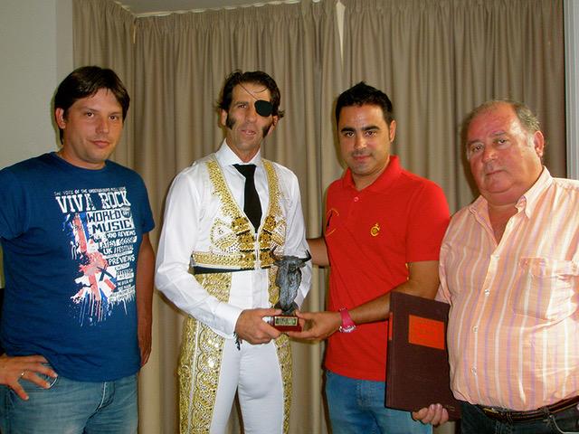 """EL denominado """"Grand-Slam taurino Romancos al campo"""", pasará a denominarse """"LEÓN DE ORO"""", en homenaje al maestro Ivan Fandiño"""