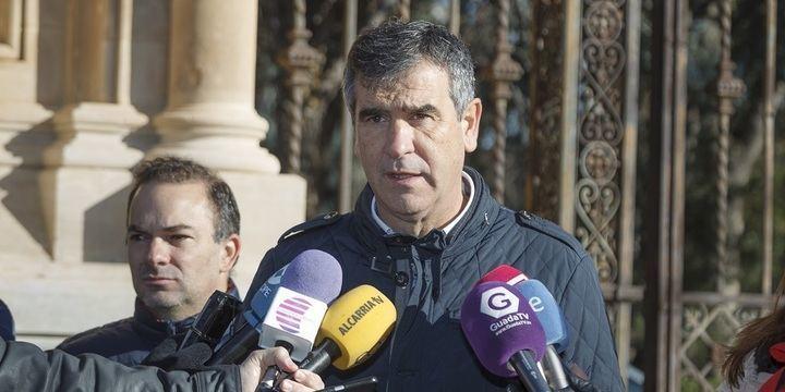 El alcalde de Guadalajara Antonio Román autoriza la vuelta a 26 de las 46 familias desalojadas