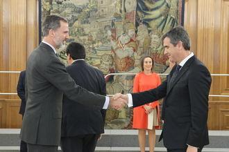 El alcalde de Guadalajara ha participado en la Audiencia Real a la Junta de Gobierno de la FEMP