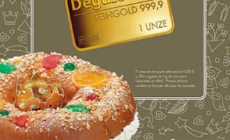 El Corte Inglés esconde 1.000 lingotes de oro en sus roscones de Reyes