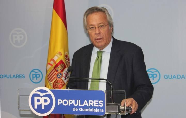 """Aguirre: """"Sería muy lamentable que Page y Podemos dejaran huérfano al Hospital de Guadalajara y no aprobara las enmiendas del PP para fortalecer la Sanidad"""""""
