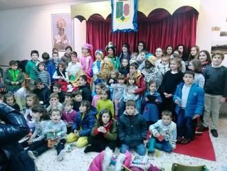Málaga del Fresno disfrutó de su Cabalgata de los Reyes Magos