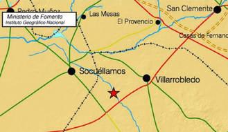 Registrado un terremoto que se ha sentido en Albacete, Cuenca y Ciudad Real