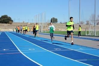 Las pistas de atletismo del CDM Valdeluz están listas para acoger pruebas del circuito provincial y regional