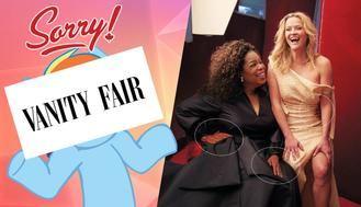 La revista Vanity la lía con el photoshop en su última portada : Oprah Winfrey tiene tres manos y Reese Witherspoon tres piernas