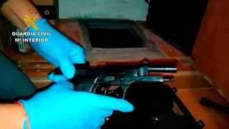 25 detenidos en una operacion contra el tráfico de armas en varias provincias, entre ellas Guadalajara