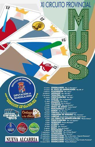 Este viernes comienza el XI Circuito Provincial de Mus