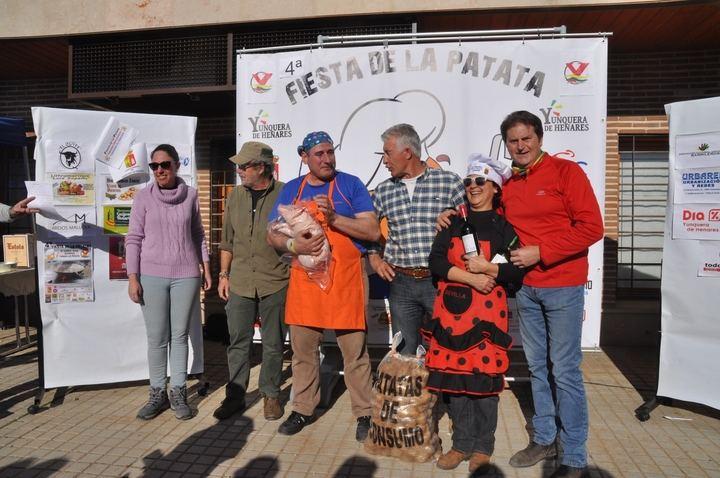 Exito total de la 4ª Fiesta de la Patata en Yunquera de Henares