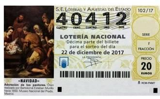 Si llevas participaciones de Lotería de Navidad del AMPA Maestra Teodora de Marchamalo, juegas con el número 40.412, no con el 40.212
