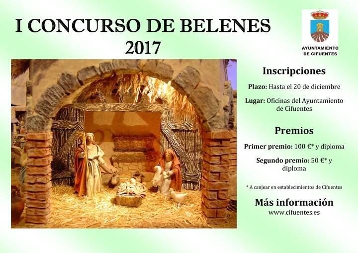 El Ayuntamiento de Cifuentes anima a participar en su primer concurso de belenes