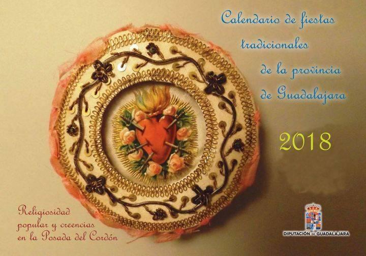 La Diputación de Guadalajara edita el calendario de fiestas tradicionales de 2018