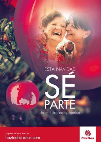 """Cáritas Sigüenza-Guadalajara tiene una petición para estas Navidades: """"Sé parte de nuestro compromiso"""""""