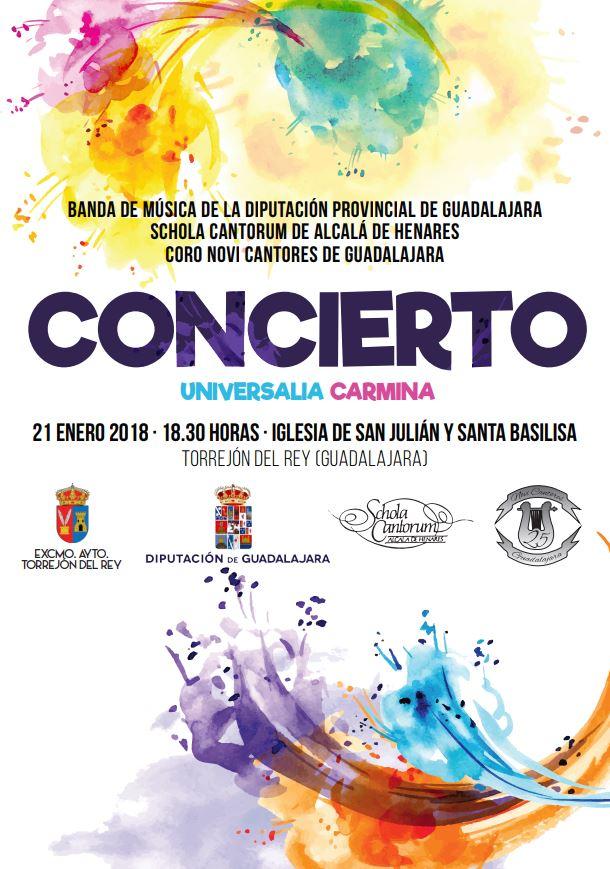 La Banda de la Diputación, Novi Cantores y la Schola de Alcalá ofrecerán el próximo domingo un concierto en Torrejón del Rey