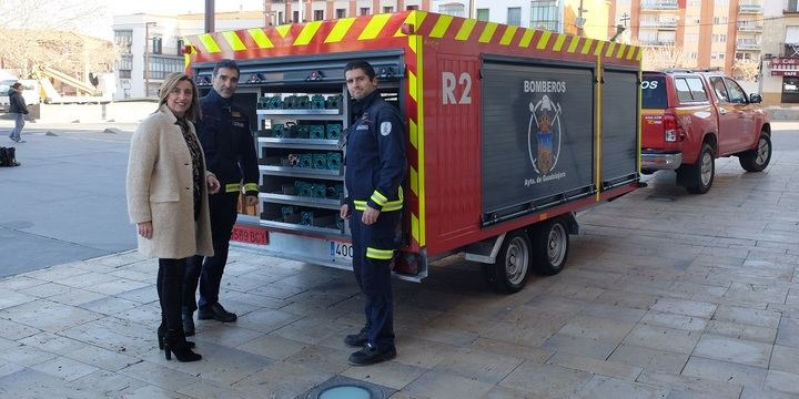 El Servicio de Extinción de Incendios de Guadalajara incorpora dos nuevos vehículos