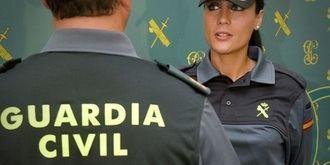 La Guardia Civil detiene a una persona en Alcolea del Pinar por robo con violencia