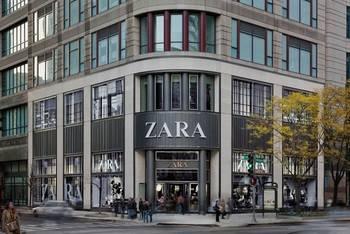 Inditex vende 16 tiendas Zara por 400 millones de euros