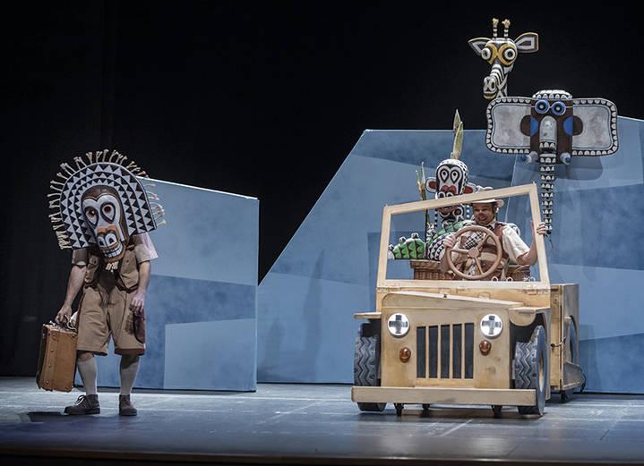 El TABV cierra el año 2017 con el teatro infantil 'Safari'