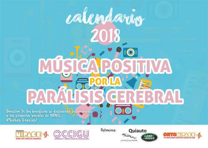Fundación Nipace lanza su Calendario solidario 2018 con 'música positiva' para los 365 días
