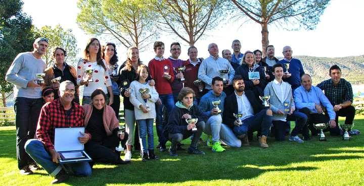 La Federación de Vela de Castilla-La Mancha entregó sus premios en una gala en Sacedón