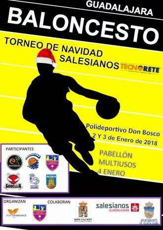 El mejor baloncesto de cantera llega a Guadalajara con el Torneo de Navidad de Salesianos