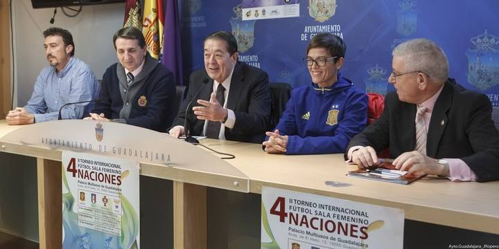 Rusia, Portugal, Italia y España jugarán en Guadalajara la segunda edición del Torneo Internacional 4 Naciones de FS Femenino